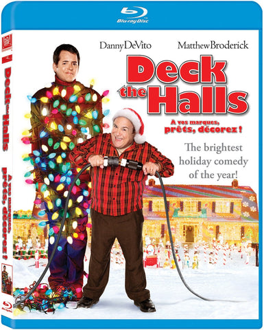 Deck the Halls (Danny DeVito) (Bilingual) (Blu-ray) BLU-RAY Movie