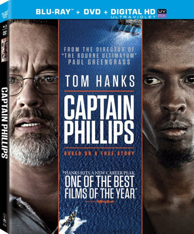 Captain Phillips (DVD+Blu-ray+Ultraviolet) (Blu-ray) BLU-RAY Movie