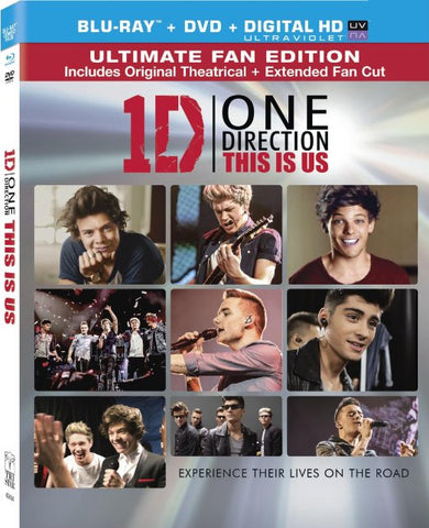 One Direction - This Is Us (Blu-ray + DVD) (Blu-ray) BLU-RAY Movie