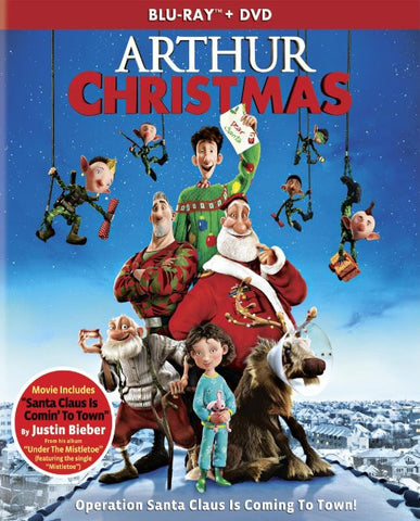 Arthur Christmas (Blu-ray + DVD + UltraViolet) (Blu-ray) BLU-RAY Movie