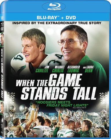 When the Game Stands Tall [Blu-ray] BLU-RAY Movie