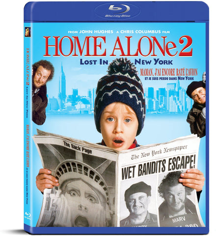 Home Alone 2: Lost in New York (Bilingual) (Blue Cover) (Blu-ray) BLU-RAY Movie