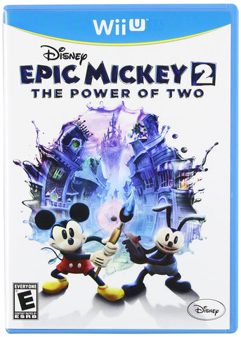 Disney Epic Mickey 2 - The Power of Two (NINTENDO WII U) NINTENDO WII U Game