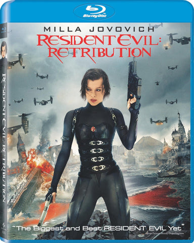 Resident Evil - Retribution (+ UltraViolet Digital Copy) (Blu-ray) BLU-RAY Movie