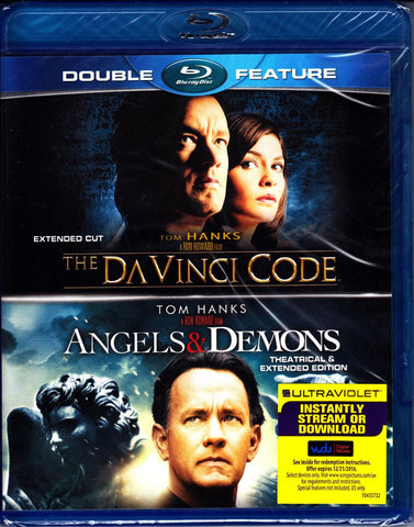 The Da Vinci Code / Angels & Demons (Double Feature) (Blu-ray) BLU-RAY Movie