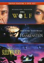 Triple Feature: Wolf / Mary Shelley's Frankenstein / Stephen King's Sleepwalkers