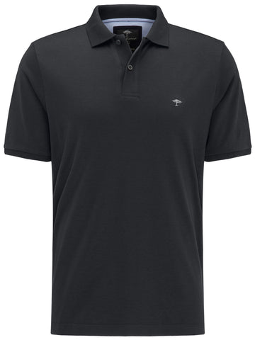 FYNCH HATTON® Jersey Polo Shirt/Black - New SS19
