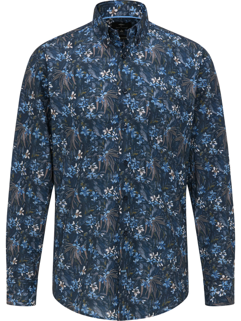 FYNCH HATTON® Premium Flower Print/Navy - New AW20