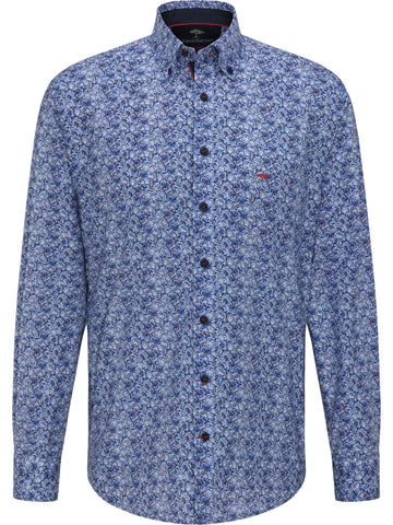 FYNCH HATTON® Premium Winter Blues Paisley Print - AW20 SALE