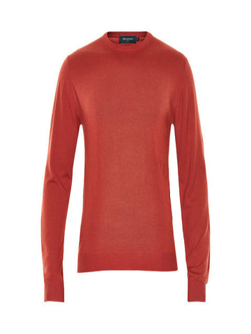 Matinique Margrate Merino Wool Crew Knit/Red Ochre - SS17 SALE