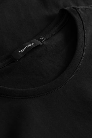 Matinique® Jermalink Cotton Stretch Crew T-Shirt/Black - CORE AW19