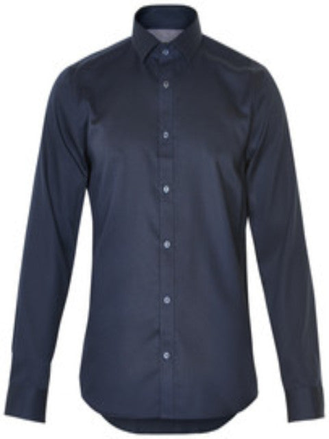 Matinique Trostol Business Structure Shirt/Dark Navy