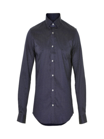 Matinique Trostol City Print Shirt/Navy Blazer - SALE