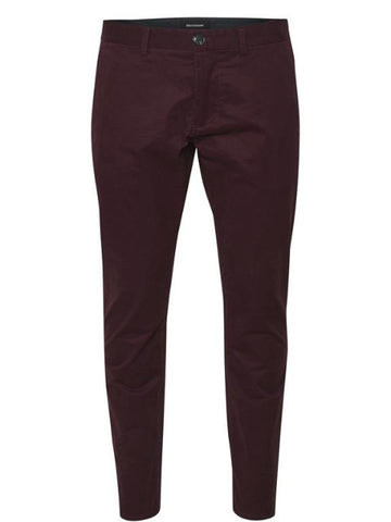 Matinique Pristu Sateen Stretch Chino/Deep Wine - New AW17