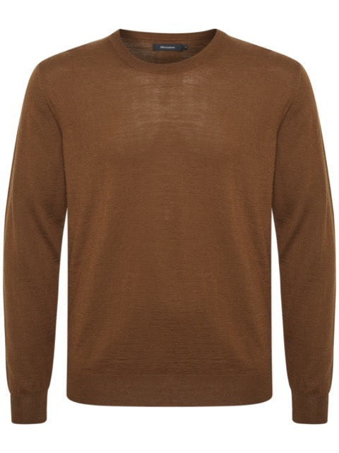 Matinique® Leon Merino Mix Crew Knit/Rust Brown - AW20