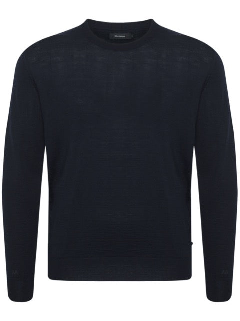 Matinique® Leon Merino Mix Crew Knit/Dark Navy - CORE SS21