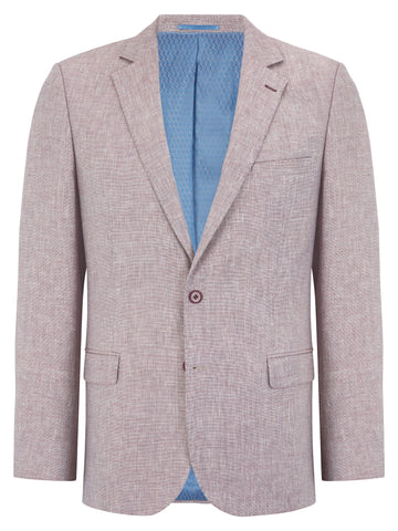 DOUGLAS® Murcia Linen Blend Jacket/Pink - New SS20 (KING SIZES)