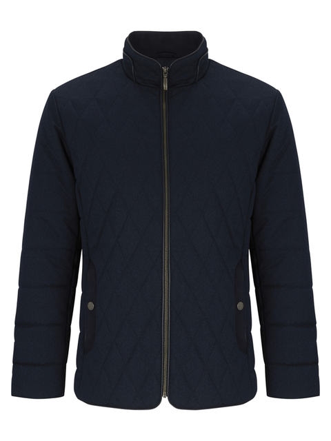DOUGLAS® HARDY Quilted Winter Coat/Navy Blue - AW19 SALE