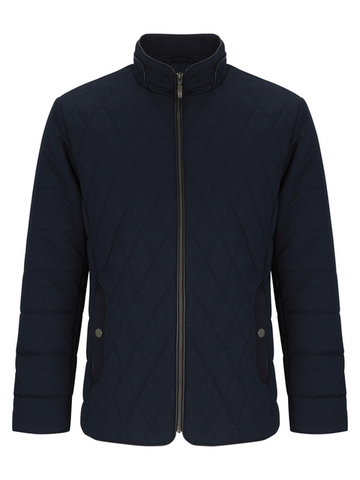 DOUGLAS® HARDY Quilted Winter Coat/Navy Blue - New AW19
