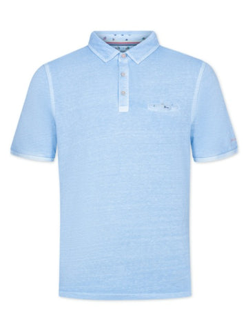 COLOURS & SONS Roger Polo Shirt/Sky - New SS20