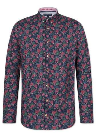 COLOURS & SONS® Phil Winter Floral Shirt - New AW19