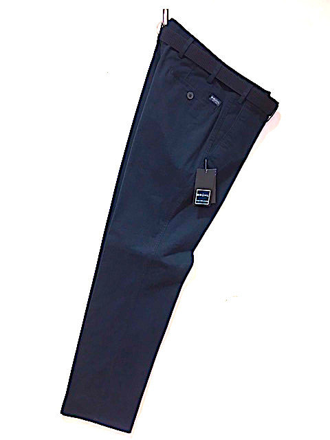 BRUHL® Montana Cotton Stretch Trouser/Marine (Navy) - CORE SS19