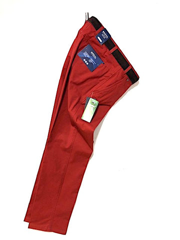 BRUHL® Catania Nanotec® Cotton Stretch Trousers/Red - New SS20