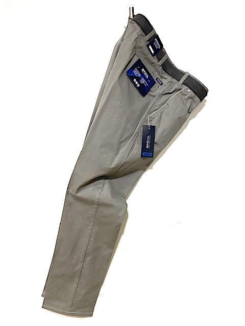 BRUHL® VENICE B Summer Cotton Stretch Trouser/Stone Grey - New SS20