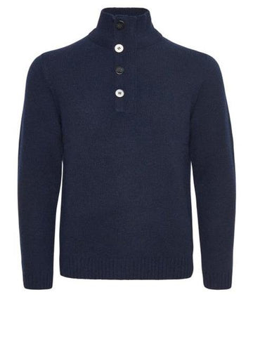 Matinique ASTON Funnel Neck Jumper/Dark Navy - SALE AW19