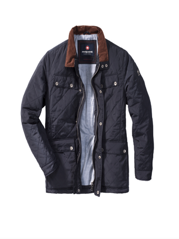 Redpoint QUENTIN Quilted Jacket/Navy - SALE