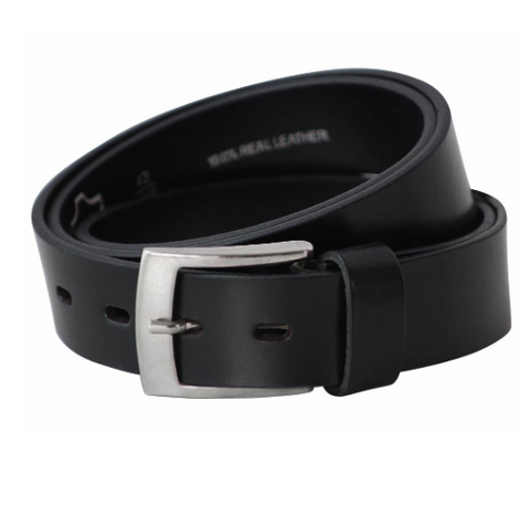 Lacuzzo 35mm Leather Belt/Black