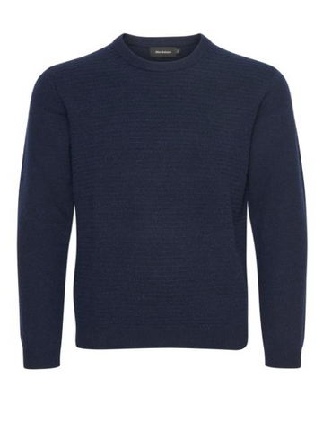 Matinique TRITON Lambswool Crew Knit/Dark Navy - New AW17