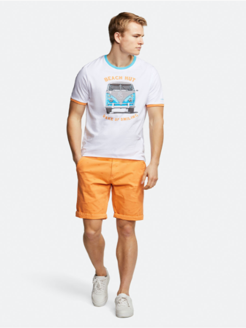 COLOURS & SONS 'Camper' T-Shirt/White - New SS20