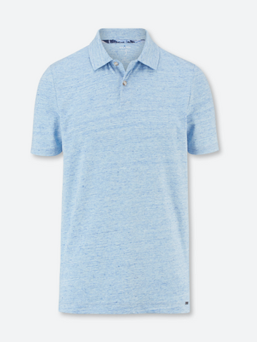Olymp® Soft Handle Modern Fit Polo/Summer Blue - New SS21