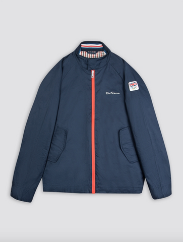 Ben Sherman x Team GB Harrington Jacket - Limited Edition 2021