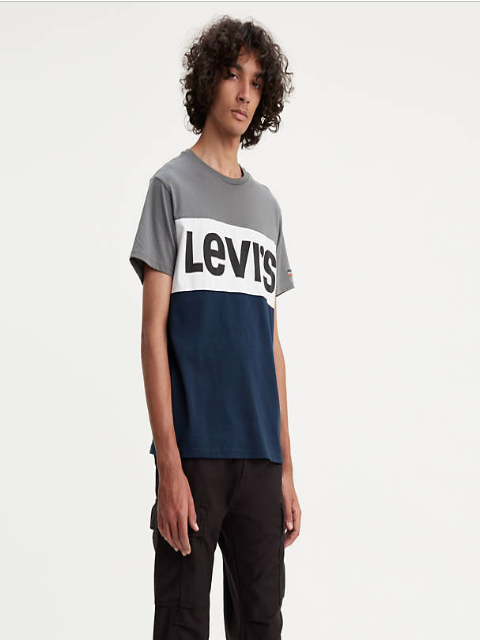 Levi's® Colourblock T-Shirt/Quiet Shade - New SS19