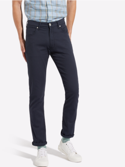 Wrangler® LARSTON Chino Fabric Jeans/Navy - New SS19
