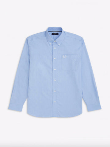 Fred Perry Oxford Shirt/Light Smoke - New AW19