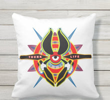Load image into Gallery viewer, Throw Pillow - ThunkLife - Bullseye Burst / Double Sided