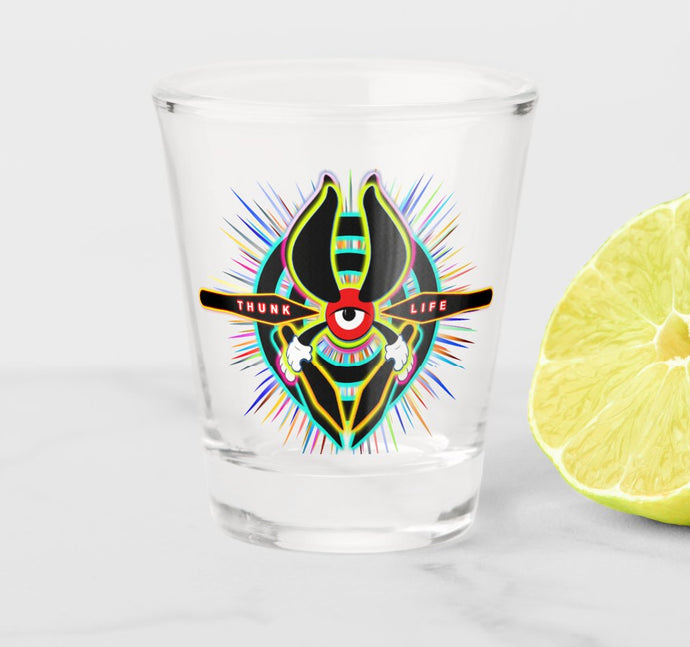 Shot Glass - ThunkLife - Bullseye Burst!
