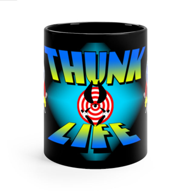 THUNK MUG - BULLSEYE Night Sky - 11oz Ceramic Mug