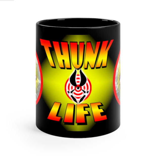 THUNK MUG - BULLSEYE Midnight - 11oz Ceramic Mug