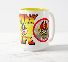 Load image into Gallery viewer, THUNK MUG - BULLSEYE Firelight - 15oz Two-Tone Mug