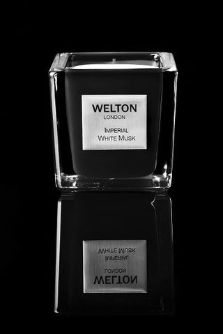 Welton scented candle Imperial White Musk small