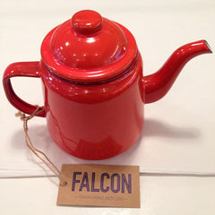 Falcon Tea Pot - Red