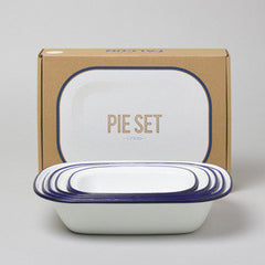 Falcon Pie Set BLUE rim