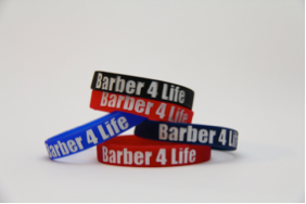 12 count - barber4life Wrist band