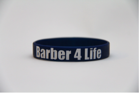 1 count - Barber 4 Life Wristband