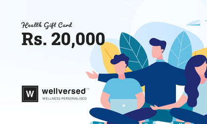 Health Gift Card - Rs. 20,000