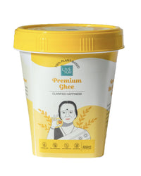 Live Yum Premium Vegan Ghee (450ml) | Palm Oil Free, Lactose Free and Cruelty Free